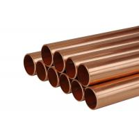 China Plumbing Type L Copper Tubing ,  Thin Wall Three Quarter Inch Copper Pipe on sale