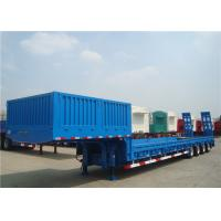 Wholesale Multi - Axle 80T Extendable Semi Trailer With Dual Line Braking System from china suppliers