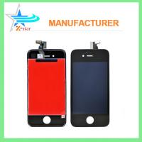 China White / Black iPhone LCD Screen Replacement , Capacitive iPhone 4 LCD Screen Assembly on sale