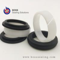 Wholesale Hydraulic cylinder compact piston oil seal TPM seal DBM seal 5 pieces per set white and black color from china suppliers