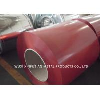 Wholesale PPGI Roof Sheet Prepainted Galvanized Steel Coil Color Blue  / Red / Green from china suppliers