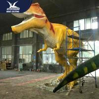 China Waterproof Dinosaur Park High Quality Equipement Life Size Realistic Dinosaur Models on sale