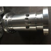 Heavy Duty Forged Cylinder Steel Sleeve Bearing for Shipbuilding / Metallurgy