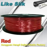 Wholesale Imitation Silk Filament Polymer Composites 3d Printer Abs Filament Red Color from china suppliers