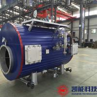 China Horizontal Generator Set Waste Heat Boiler for Food Processing Laundry for sale