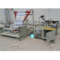 China Folding Plastic Shopping Bag Making Machine 60 M/Min 2600×3000×1400 Mm on sale