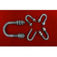 Wholesale Hot Dip Galvanized Bolts And Nuts , Stainless Steel U Bolt / Stud / Screw from china suppliers