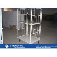 Wholesale Warehouse Storage Steel Roll Container Wire Mesh Design Material Handling Trolley from china suppliers