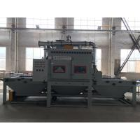 Wholesale Sand Blasting Line for Large Size / Belt Conveyer Auto Sandblasting Machine from china suppliers