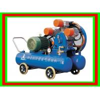 Buy cheap Low Noise 0.5Mpa 15HP Mine 60 Gallon Air Compressor 1.8 m³ / min With 11kw from wholesalers