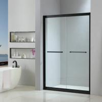 Buy cheap Stainless steel shower enclosure 1400*2000 with double sliding doors from wholesalers