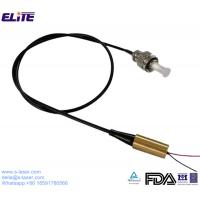 FDA Certified 445nm 1mw-300mw Low Power Coaxial Fiber Laser Module with 4um-200um Core Fiber and FC/ST/SMA Connector