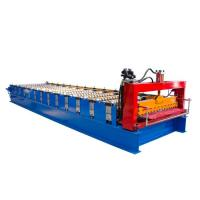 Wholesale Single Layer Corrugated Roll Forming Machine , Corrugated Steel Panel Roll Forming Machine from china suppliers