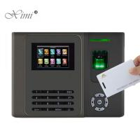 China TCP / IP Biometric Fingerprint Attendance System 12 V DC 1.5 A Power Supply for sale