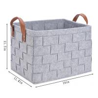 China factory products homeFelt StorageBaskets for sale