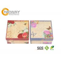 LOGO Printed Custom Gift Boxes With Lids  / Food Grade Paper Packaging Box