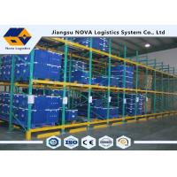 Wholesale FIFO Economical Gravity Pallet Racking Power Coating For Vulnerable Goods from china suppliers