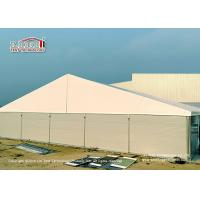 Buy cheap 25 Meter Width  Marquee Canopy Tent with Steel Sandwich Panels for Warehouse from wholesalers