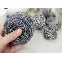 Wholesale Household Cleaning Metal Scouring Ball Helical Structure Not Easy To Drop Crumbs from china suppliers