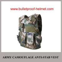 Wholesale Wholesale Cheap China NIJ Army Digital Camouflage Police Bulleptoof Anti-Stab Vest from china suppliers