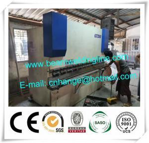 China CNC Hydraulic Press Brake With Delem Controller DA69T CNC System on sale