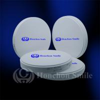 China 98.5mm ST Translucent Monolayer Zirconia Blocks Dental Zrconium Disk CADCAM Milling Blanks on sale