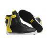 Buy cheap Black Supra fashion shoes Justin Men Society high top walking shoes from wholesalers