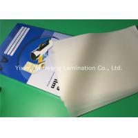 Quality PET Laminating Film A4 4 Mil Plastic Laminated Pouches For Docuements for sale