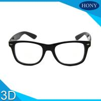 Best Cinema White Circular Polarized 3D Glasses foldable arms WITH Anti UV wholesale