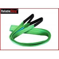 Buy cheap 2ton Approved Color Code Lifting Sling Flat Webbing Lifting Slings Safety from wholesalers
