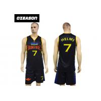 Wholesale Cheap Custom Dry Fit Lycra Basketball Uniforms For Adults And Kids from china suppliers