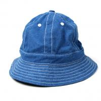 custom Wholesale Blue Jean Washed Bucket Cap and hat