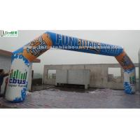 Wholesale Outdoor Advertising Inflatable Arches Made Of 1st Class PVC Tarpaulin from china suppliers