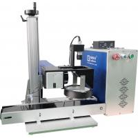 Wholesale Stainless Steel Fiber Laser Printing System With CCD Camera Positioning System from china suppliers