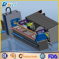 Wholesale 1000W Fiber Metal Tube Laser Cutting Machine 8mm Steel Pipe Laser Cutter Factory Sale from china suppliers