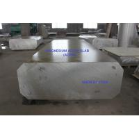 China DC Cast Magnesium Alloy Block Plate Slab with Rectangular shape ready for hot rolling process on sale