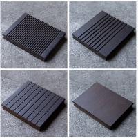Wholesale Fireproof Bamboo Flooring Outdoor Decking , Square Vertical Bamboo Flooring from china suppliers