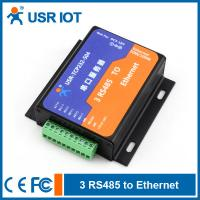 China Serial Ethernet Server Converter - 3 RS485 port to TCP/IP Converter on sale