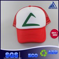 Wholesale 5 - Panel Foam Woven Label Snapback Trucker Cap For Protecting From Sun from china suppliers