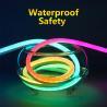 Buy cheap Programmable Flexible Led Neon Rope , Waterproof Flexible Strip Lighting Dream from wholesalers
