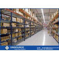 Wholesale High Density Pallet Storage Racks 75mm Adjustable Double Deep Pallet Racking System from china suppliers