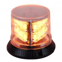 China 3W Amber Led Beacon Warning Light , 6 Modes LED Flashing Beacon Lights on sale