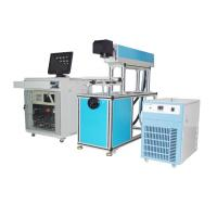 Wholesale High Speed CO2 Laser Marking Machine for Shoes / Cloth from china suppliers