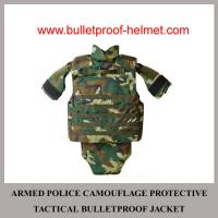 Wholesale Wholesale Cheap China NIJ Armed Police Camo Protective Tactical Bulletproof Jacket from china suppliers