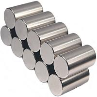 Wholesale Nickel Plated Large Neodymium Rod Magnets for Motors from china suppliers
