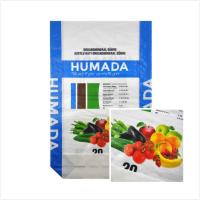 China Agriculture Nutrient / Flour Packaging Bags , Square Bottom Bopp Laminated Bags for sale