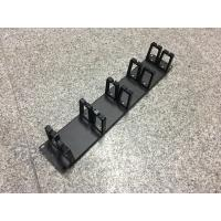 Wholesale 5 Piece Rings Horizontal Cable Manager , 2u Rackmount Cable Management from china suppliers