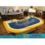 China outheast Asian Baccarat Gambling Poker Casino Style For Gambling Poker Tables Poker Table Factory Pirce for sale