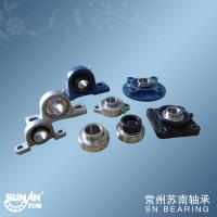 Best Chrome Steel Gcr15 Ball Bearing Unit With Set Screws Locking Or Eccentric Locking Collar wholesale
