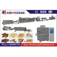 Wholesale Two Screw Cereal Maker Machine 45kw , High Output Food Processing Equipment from china suppliers